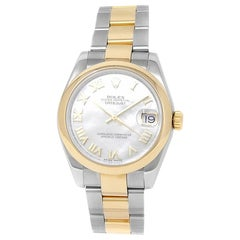 Rolex Datejust 178243, Mother of Pearl Dial, Certified and Warranty
