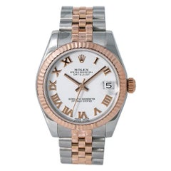 Rolex Datejust 178271, White Dial, Certified and Warranty