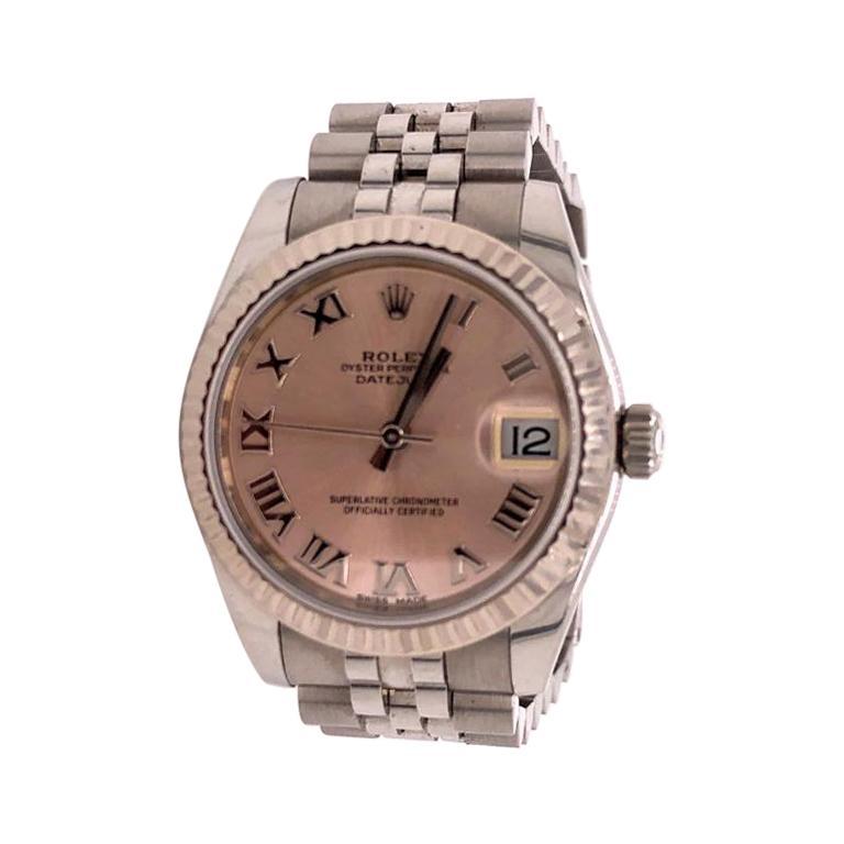 Rolex Datejust 178274 Womens Wrist Watch in 18kt Stainless Steel/White Gold 2019