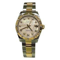 Rolex Datejust 178313, Certified and Warranty