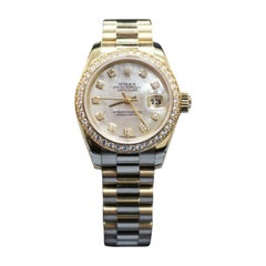 Rolex Datejust 179138, White Dial, Certified and Warranty