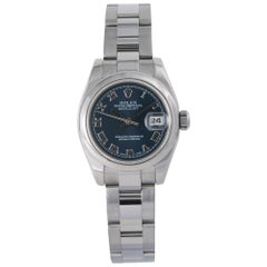 Rolex Datejust 179160, Blue Dial, Certified and Warranty