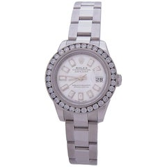 Rolex Datejust 179160 SS Automatic Ladies Watch White Dial, 1970