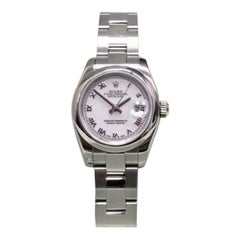 Rolex Datejust 179160, White Dial, Certified and Warranty