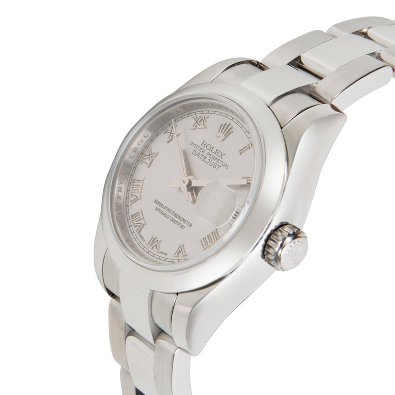 Modern Rolex Datejust 179160 Women's Watch in Stainless Steel For Sale