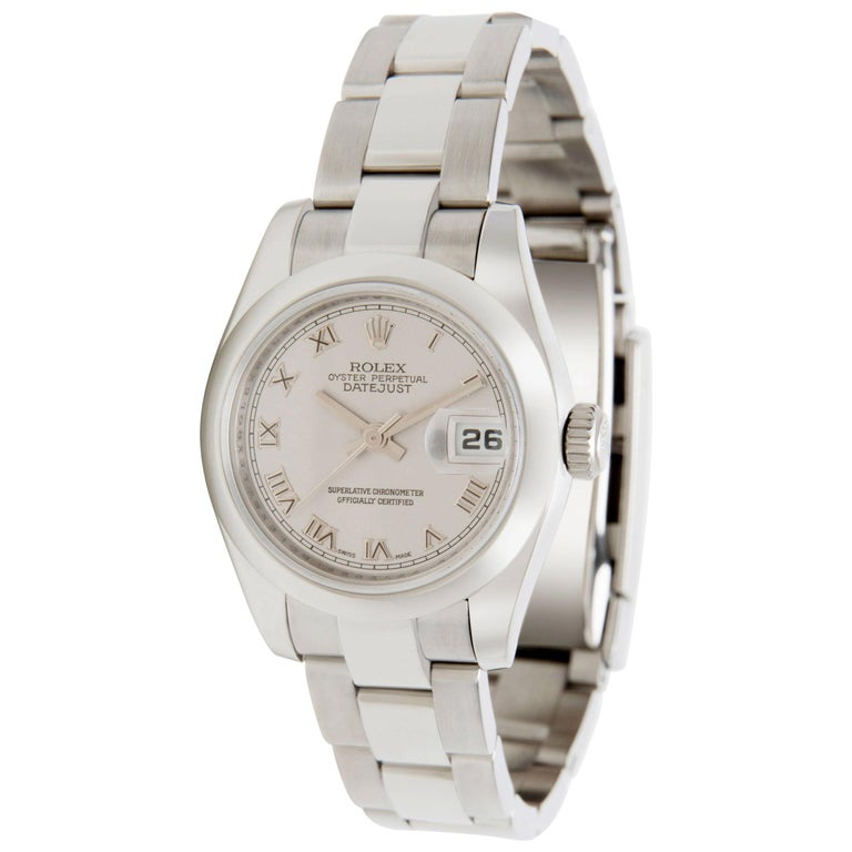 Rolex Datejust 179160 Women's Watch in Stainless Steel For Sale