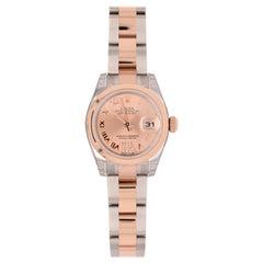 Rolex Datejust 179161 Rose Gold Two-Tone, Diamond VI Marker
