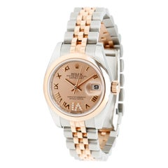Rolex Datejust 179161 Women's Watch in 18 Karat Stainless Steel/Rose Gold