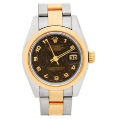 Rolex Datejust 179163, Black Dial, Certified and Warranty