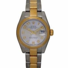 Rolex Datejust 179163 Women's Automatic Watch 18 Karat Yellow Gold Oyster Band