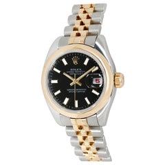 Rolex Datejust 179163 Women's Watch in 18 Karat Stainless Steel/Yellow Gold