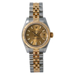 Rolex Datejust 179173, Grey Dial, Certified and Warranty