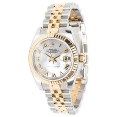 Rolex Datejust 179173 Women's Watch in 18 Karat Stainless Steel/Yellow Gold
