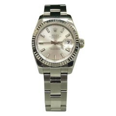 Rolex Datejust 179174, Black Dial, Certified and Warranty