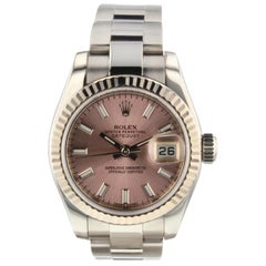 Rolex Datejust 179174, Pink Dial, Certified and Warranty