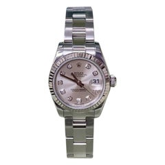 Rolex Datejust 179174, Silver Dial, Certified and Warranty