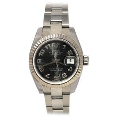 Rolex Datejust 179174 with Band and Black Dial
