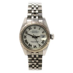 Rolex Datejust 179174 with Band and White Dial