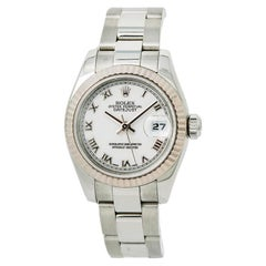 Rolex Datejust 179174 Women's Automatic Watch White Dial Stainless Steel