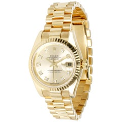 Rolex Datejust 179178 Women's Watch in 18 Karat Yellow Gold