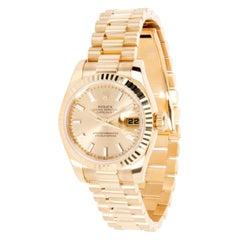 Rolex Datejust 179178 Women's Watch in 18 Karat Yellow Gold