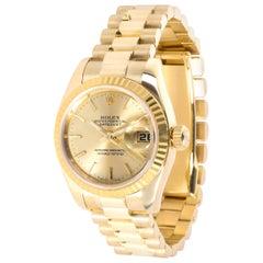 Rolex Datejust 179178 Women's Watch in Yellow Gold