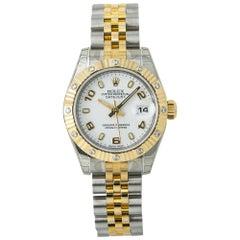 Rolex Datejust 179313 Automatic Watch W/Papers 18K Two-Tone Diamond Bezel