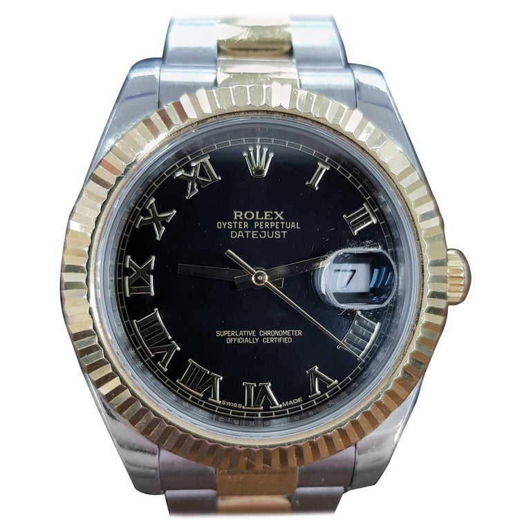 Rolex Datejust 2, Bi-Metal, Model Number 116333, Registered 2011 For Sale