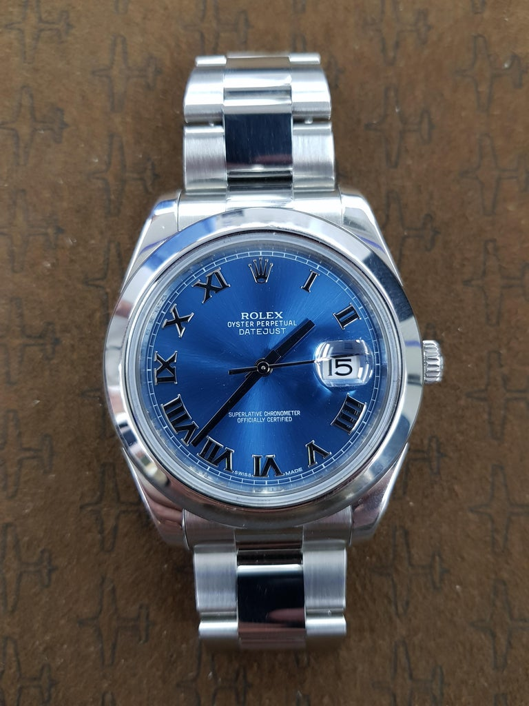 Rolex Datejust 2, Stainless Steel, Model Number 116300, Registered 2015 In Excellent Condition For Sale In London, GB