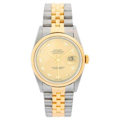 Rolex Datejust 2-Tone Men's Steel and Gold Watch 16233