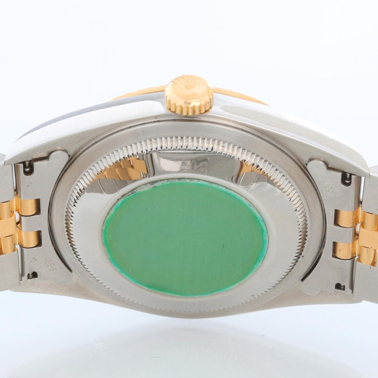 Rolex Datejust 2-Tone Men's Steel & Gold Watch 16233 1