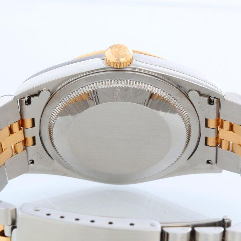 Rolex Datejust 2-Tone Men's Steel & Gold Watch 16233 For Sale 1