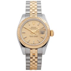 Rolex Datejust 26 179173 Ladies Stainless Steel and Yellow Gold 0 Watch