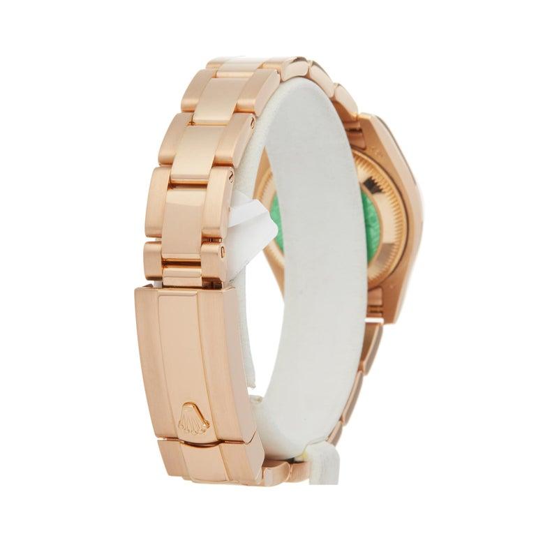 Rolex Datejust 26 18 Karat Rose Gold 179175 For Sale 1