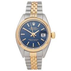 Rolex Datejust 26 18 Karat Stainless Steel and Yellow Gold 6916 Wristwatch