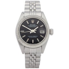 Rolex Datejust 26 6917 Ladies Stainless Steel and White Gold Watch