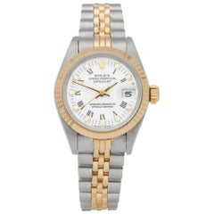 Rolex Datejust 26 69173 Ladies Stainless Steel and Yellow Gold Watch