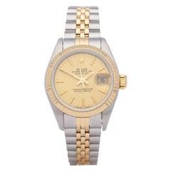 Rolex Datejust 26 69173 Ladies Yellow Gold & Stainless Steel Watch