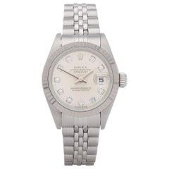 Rolex Datejust 26 69174G Ladies Stainless Steel Diamond Watch