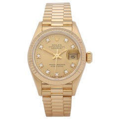 Rolex Datejust 26 69178G Ladies Yellow Gold Watch