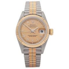 Rolex Datejust 26 69179 Ladies Yellow Gold & Stainless Steel Tridor' Watch