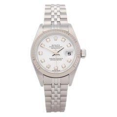 Rolex Datejust 26 79174 Ladies White Gold & Stainless Steel Watch