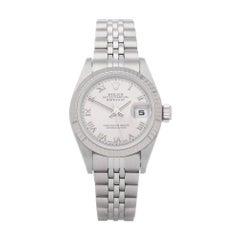 Rolex Datejust 26 79174 Ladies White Gold & Stainless Steel Watch