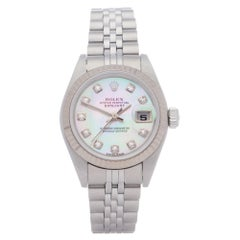 Rolex Datejust 26 79174NG Ladies White Gold & Stainless Steel 0 Watch