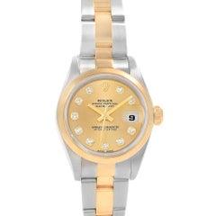 Rolex Datejust 26 Ladies Steel Yellow Gold Diamond Ladies Watch 79163