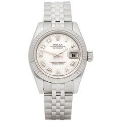 Rolex DateJust 26 Mother of Pearl Stainless Steel and White Gold 179174