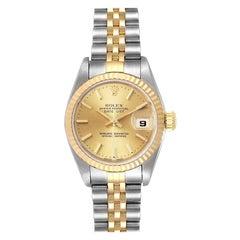 Rolex Datejust 26 Steel Yellow Gold Ladies Watch 79173 Box