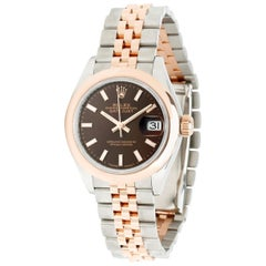 Rolex Datejust 279161 Women's Watch in 18 Karat Stainless Steel/Rose Gold
