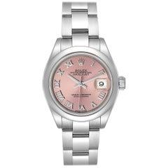 Rolex Datejust 28 Pink Dial Oyster Bracelet Steel Ladies Watch 279160