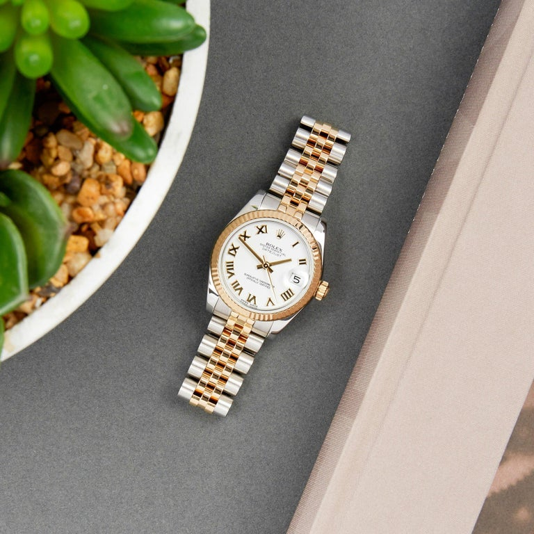 Rolex Datejust 31 178273 Ladies Stainless Steel and Yellow Gold Watch For Sale 4